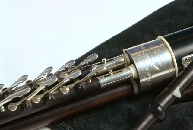 Uilleann Pipes, Regulator m. Tuning Slide: Großansicht
