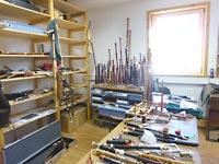 Instrumente warten auf  Bearbeitung