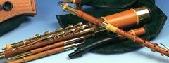 3/4 Set Uilleann Pipes in C, Zwetschge: Vorschaubild