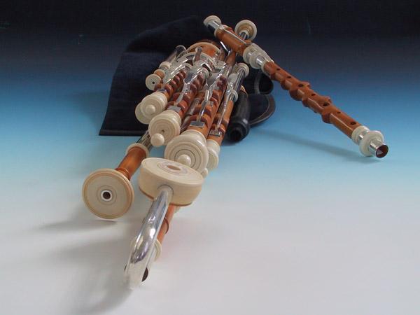 Master Set Uilleann Pipes in D, Detail 4: Großansicht